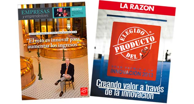 La Vanguardia y la Razn dedican sus suplementos especiales a la innovacin y a El Producto del Ao