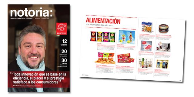 Disponible el número 12 de la revista notoria sobre innovación en gran consumo