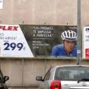 Valla centro comercial FLEX