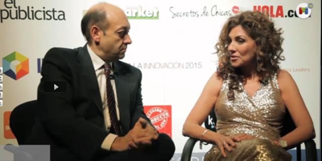 Blanca Gener, entrevistada por Madrid Diario tras finalizar la entrega de premios