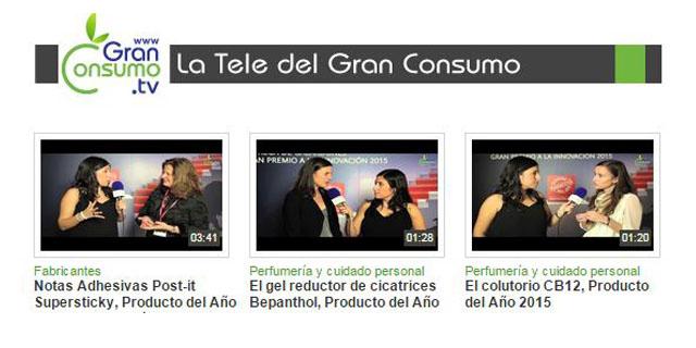 GranConsumo.tv ofrece entrevistas en exclusiva a algunas de las empresas galardonadas