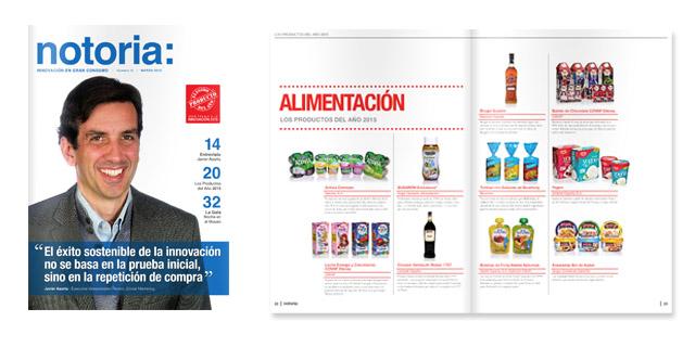 Sale a la luz el número 15 de la revista notoria sobre innovación en gran consumo