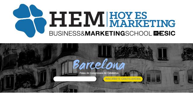 Quedan 10 días para Hoy es Marketing Barcelona