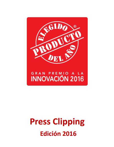 Clipping de prensa El Producto del Año 2016