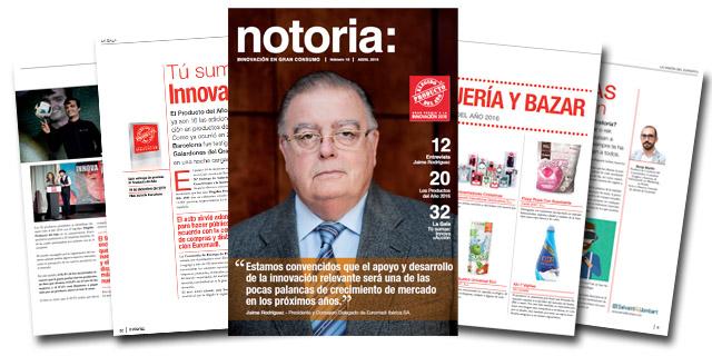 Ya está disponible el número 18 de la revista notoria sobre innovación en gran consumo