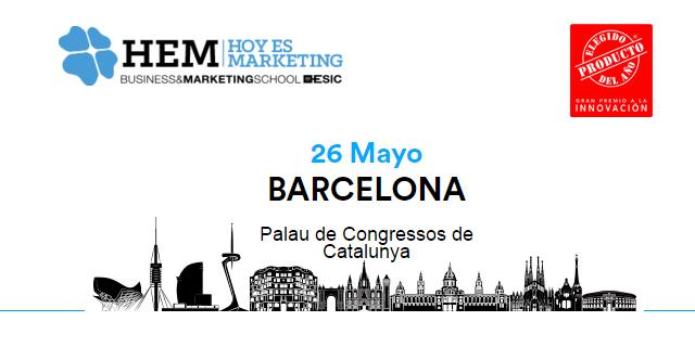 El Producto del Año colabora en el XIII encuentro de Hoy es Marketing en Barcelona, organizado por ESIC