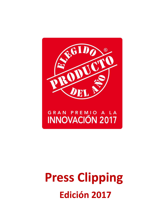 Clipping de prensa El Producto del Año 2017