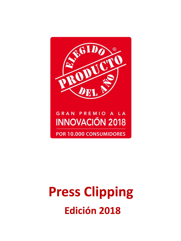 Press Clipping El Producto del Año 2018 2