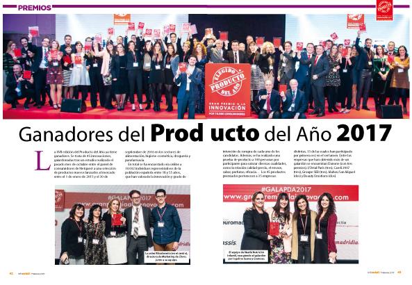 Inforetail publica un amplio reportaje sobre los Productos del Año 2017