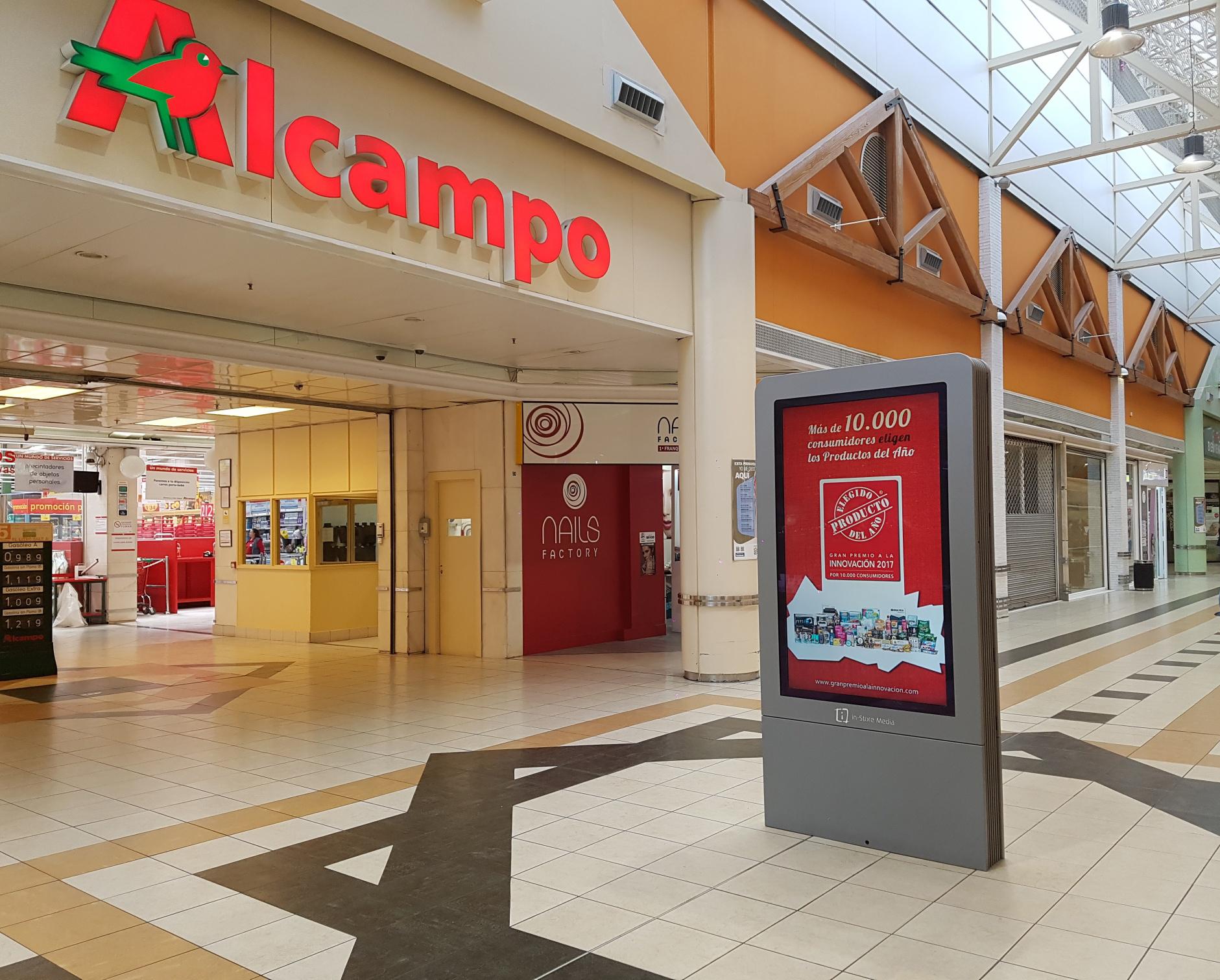 Campaña de los Productos del Año en centros Alcampo